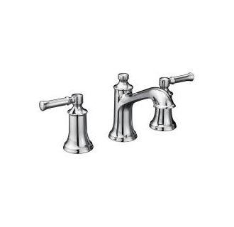Moen T6805BN Brushed Nickel Double Handle Widespread Bathroom Faucet ...