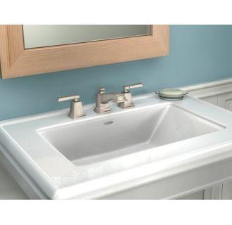 Moen 84820 Chrome Double Handle Widespread Bathroom Faucet