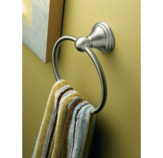 Moen CSIDN8486BN Brushed Nickel Towel Ring from the ...