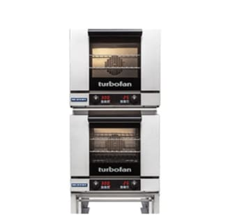 Double Digital Electric Half-Size Tray Turbofan Convection Oven
