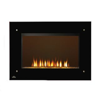 5000 BTU 1500 Watt Electric 120V Wall Mount Fireplace with Remote Control
