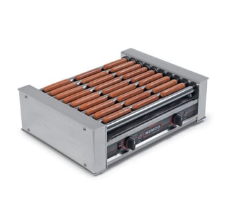 Hot Dog Roller with GripsIt Non-Stick Coating- 18 Hot Dog Capacity