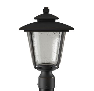 """Ivy Cottage 16"""" Tall Single Light LED Outdoor Post Light"""