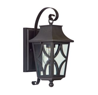 "Altimeter 14"" Tall Single Light Outdoor Wall Sconce"