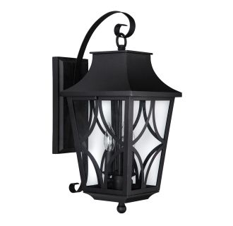 "Altimeter 10"" Wide 3 Light Outdoor Wall Sconce"