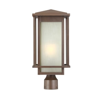 """Beech Lane Single Light 15"""" High Outdoor Single Head Post Light with Frosted Glass Shade"""