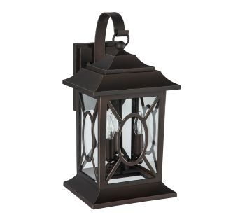 "Kingston Manor 10"" Wide 3 Light Outdoor Wall Sconce"