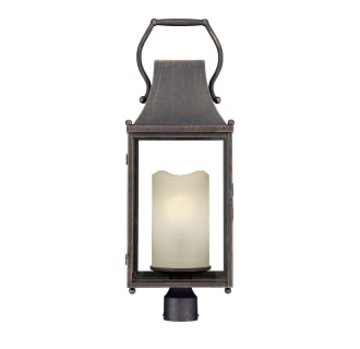 """Whitby Single Light 28-15/16"""" High Outdoor Single Head Post Light with Frosted Glass Shade"""