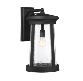 """Woodberry Single Light 18-13/16"""" Tall Outdoor Wall Sconce with Seedy Glass Shade"""