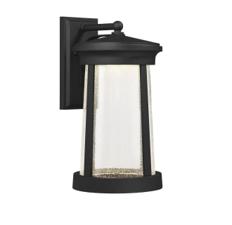"""Woodberry 18-13/16"""" Tall Integrated LED Outdoor Wall Sconce with Seedy Glass Shade"""