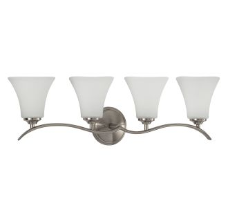 "Columbus 31"" Wide 4 Light Bathroom Fixture"
