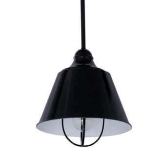"10"" Wide Single Light Single Pendant with Industrial Style Shade"