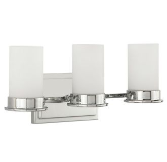 "Aventura 13"" Wide 3 Light Bathroom Fixture"