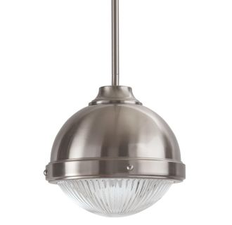 "9"" Wide Single Light Mini Pendant with Industrial Dome Style Shade"
