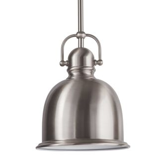 """8"""" Wide Single Light Mini Pendant with Industrial Style Shade"""