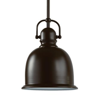 "8"" Wide Single Light Mini Pendant with Industrial Style Shade"