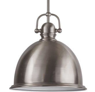"""13"""" Wide Single Light Single Pendant with Industrial Style Shade"""