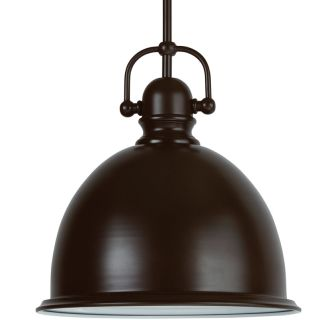 "13"" Wide Single Light Single Pendant with Industrial Style Shade"
