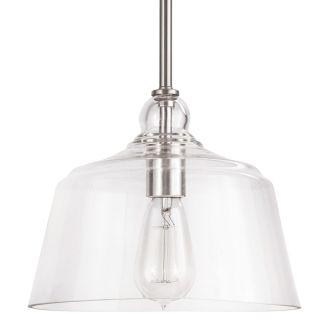 "Eastland 9"" Wide Single Light Mini Pendant with Cloche Dome Shade"