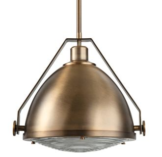 "15"" Wide Single Light Single Pendant with Industrial Style Shade"