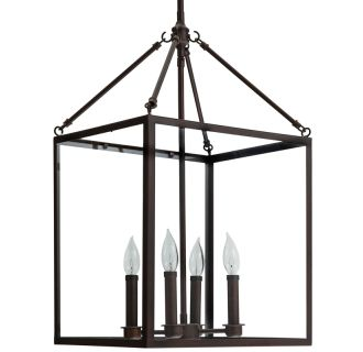 "14"" Wide 4 Light Single Pendant"