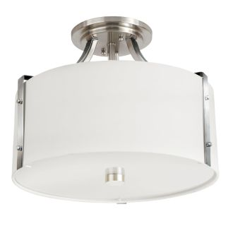 "Highfield 15"" Wide 3 Light Semi-Flush Ceiling Fixture"