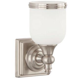 """Thornton 9"""" Tall Single Light Bathroom Fixture"""