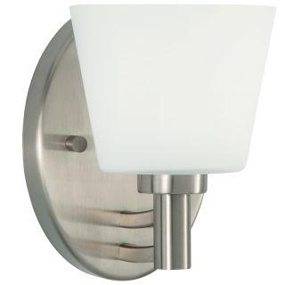"Maldive 7"" Tall Single Light Bathroom Fixture"