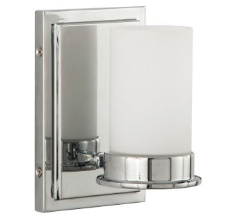"Aventura 8"" Tall Single Light Bathroom Fixture"