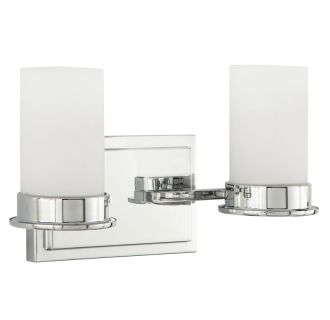 "Aventura 14"" Wide 2 Light Bathroom Fixture"