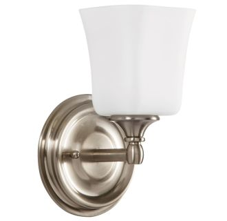 "Scarborough 10"" Tall Single Light Bathroom Fixture"