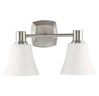 "Southern Shores 16"" Wide 2 Light Bathroom Fixture"
