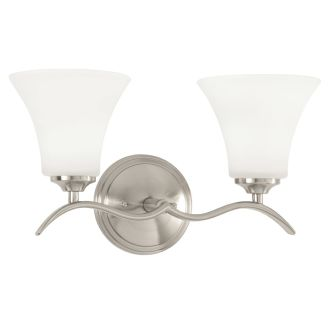 "Columbus 16"" Wide 2 Light Bathroom Fixture"