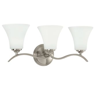 "Columbus 23"" Wide 3 Light Bathroom Fixture"