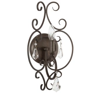 "Jefferson Commons 16"" Tall Single Light Wall Sconce"
