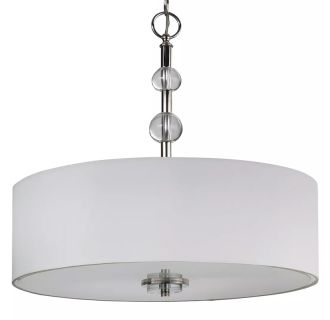 "Bankloft 20"" Wide 4 Light Chandelier"