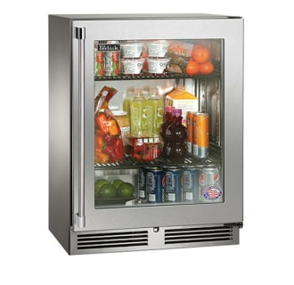 24 Built-in Sottile Series Refrigerator w/ Glass Door - Right Hinge