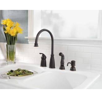Pfister F-026-4CBS Stainless Steel Avalon Kitchen Faucet ...