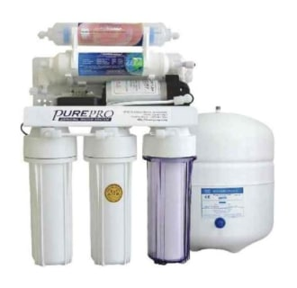 6 Stage 50 Gallon Reverse Osmosis Water Purification System with Infra-Red Filter and Pump