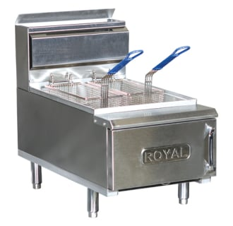 25 Lb. Commercial Gas Fryer with 2 Fry Baskets