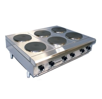 12 Electric Hot Plate with 2 Burners