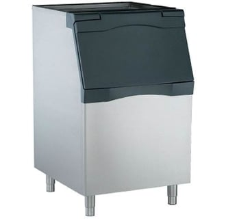 536 Lbs Capacity, 30 Ice Bin - Stainless Steel
