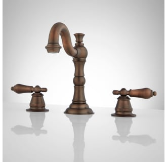 bamboo look NEW Signature Hardware single handle faucet in Antique Copper