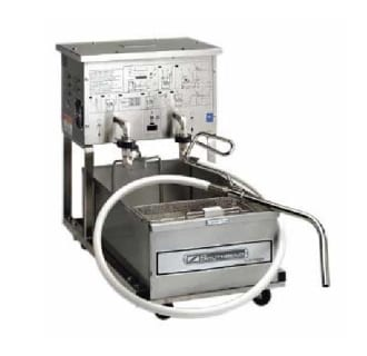 55 lb Capacity Portable Filtration Unit on Casters