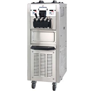 Soft Serve Ice Cream Machine with Air Pump- 94 qt/hr