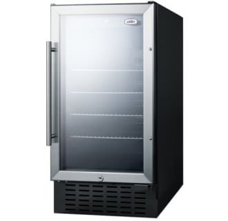 18 Inch Built-In Beverage Center ADA - Stainless Trim GlaDoor