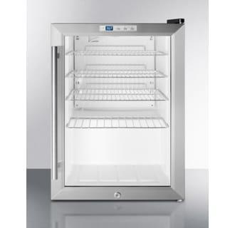 17 Inch Wide 2.5 Cu. Ft. Merchandiser Refrigerator with Digital Thermostat