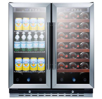 30 Built-In Dual Zone Wine and Beverage Center
