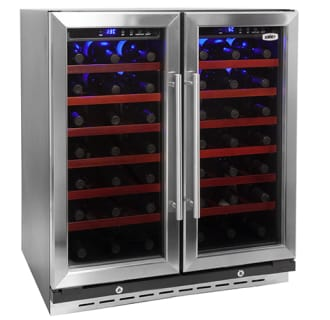 66 Bottle 30 Built-In Dual Zone Wine Cooler