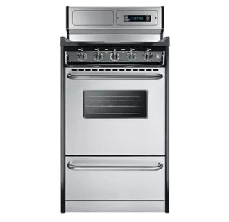 """20"""" Freestanding Electric Range with Electronic Ignition, Clock with Timer"""